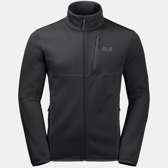Jack Wolfskin Mens Kiewa Jacket Black