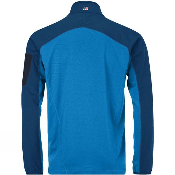 Berghaus Mens Pravitale MTN Light NH Fleece Jacket Adriatic / Deep Water