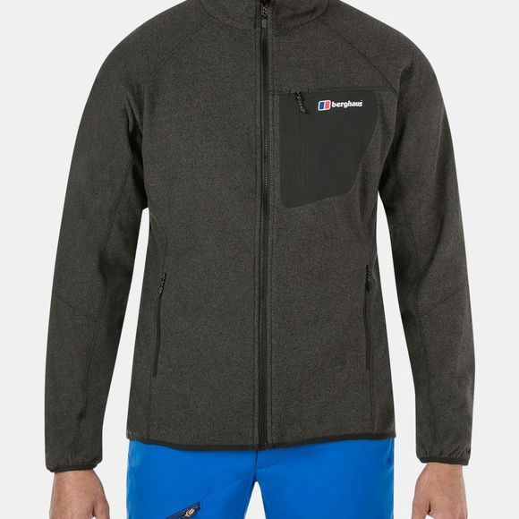 Berghaus Mens Deception 2.0 Fleece Jacket Jet Black Marl