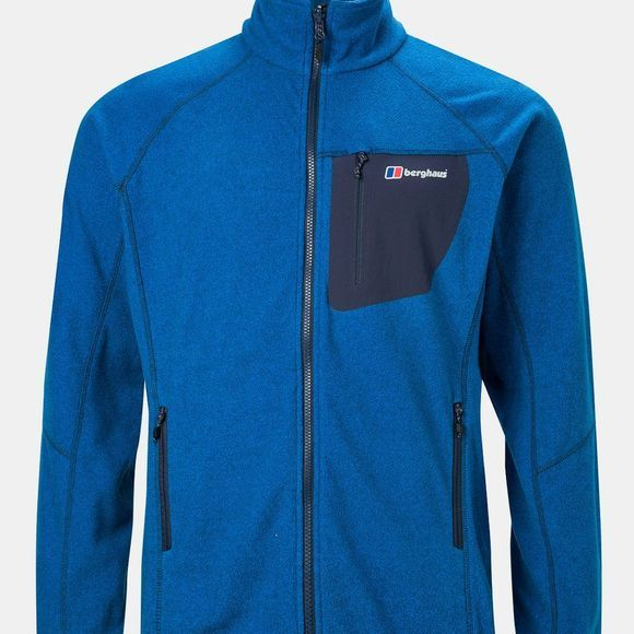 Berghaus Mens Deception 2.0 Fleece Jacket Dark Snorkel Blue Marl