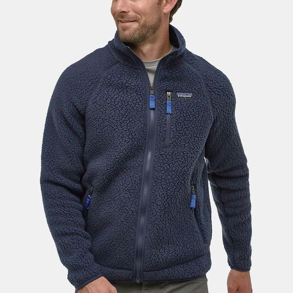 Patagonia Mens Retro Pile Jacket Neo Navy