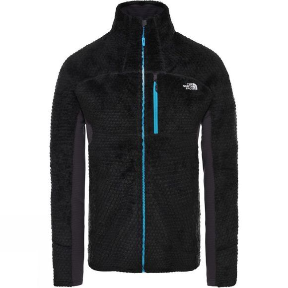 The North Face Mens Impendor Highloft Fleece Tnf Black/Acoustic Blue