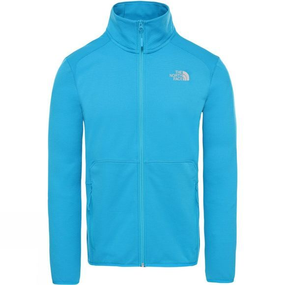 The North Face Mens Quest Full Zip Fleece Acoustic Blue