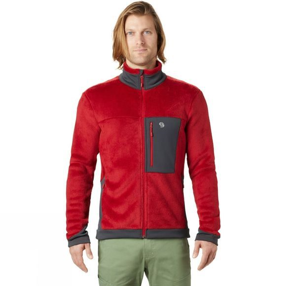 Mountain Hardwear Mens Monkey Man 2 Jacket Dark Brick