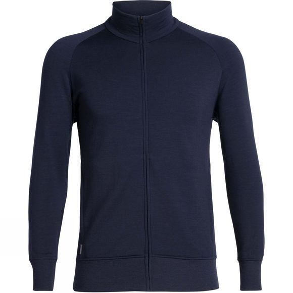 Icebreaker Men's Lydmar Long Sleeve Zip Top Midnight Navy