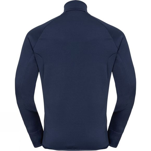 Odlo Mens Carve Fan Midlayer Diving Navy - Formula One