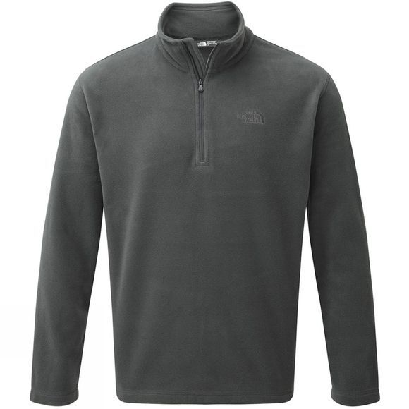 The North Face Mens Cornice 1/4 Zip Fleece Asphalt Grey/TNF Black
