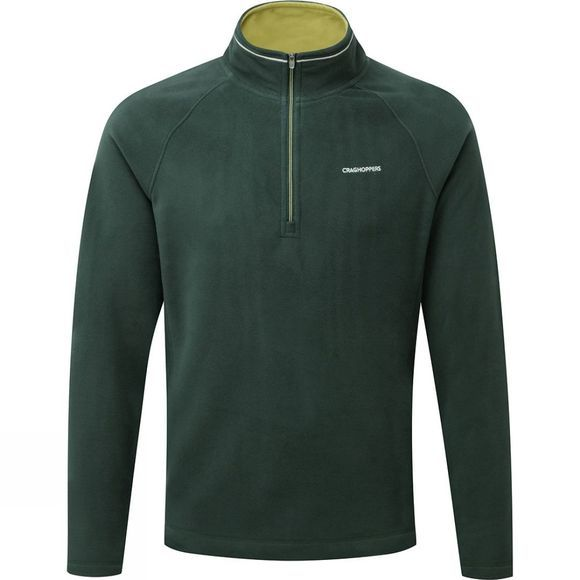 Craghoppers Mens Selby Half Zip Asteroid Green