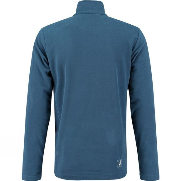 Ayacucho Mens Crevasse Half Zip Fleece Navy