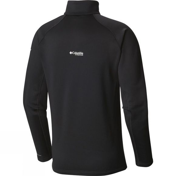 Columbia Mens Northern Ground Half Zip Fleece Black