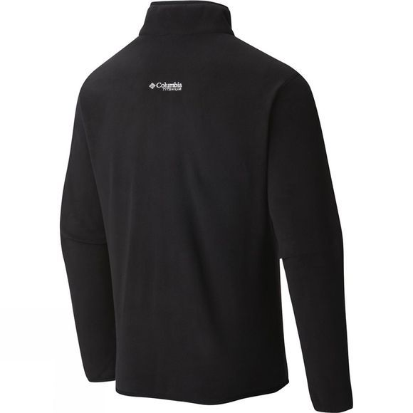Columbia Mens Titan Pass 1.0 1/2 Zip Fleece Black