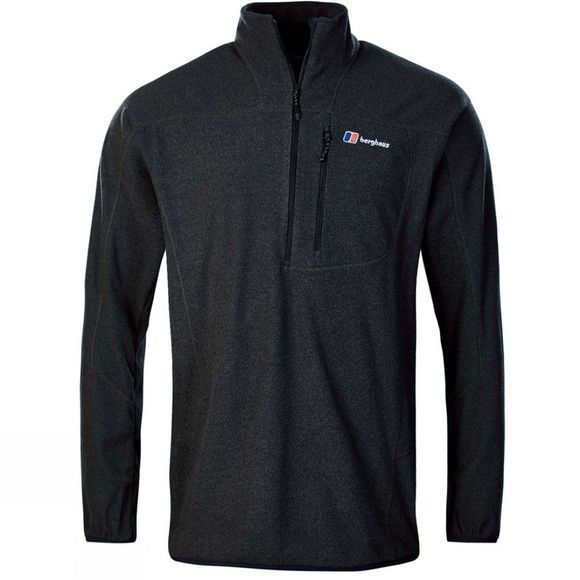 Berghaus Mens Spectrum Micro Half Zip Fleece 2.0 Jet Black Marl