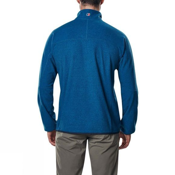 Berghaus Mens Spectrum Micro Half Zip Fleece 2.0 Dark Snorkel Blue Marl