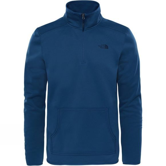 The North Face Mens Tanken 1/4 Zip Shady Blue
