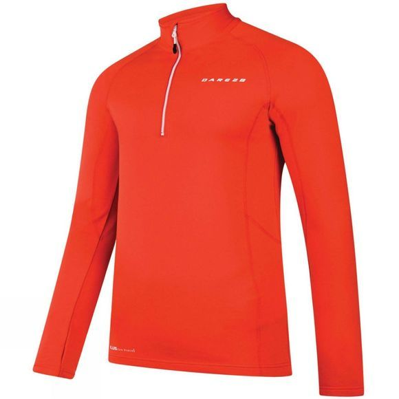 Dare 2 b Mens Interfuse Core Stretch Top Seville Red