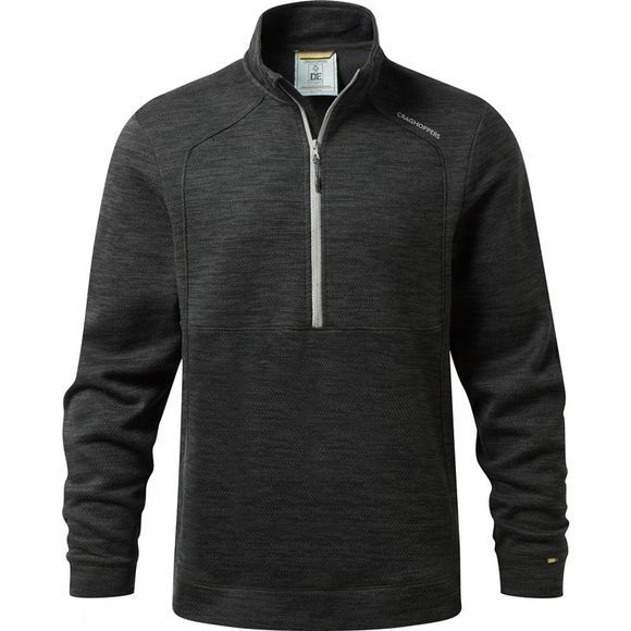 Craghoppers Mens Vector Half Zip Fleece Black