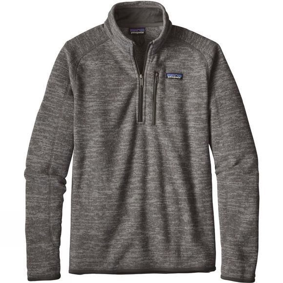 Patagonia Mens Better Sweater 1/4 Zip Fleece Nickel