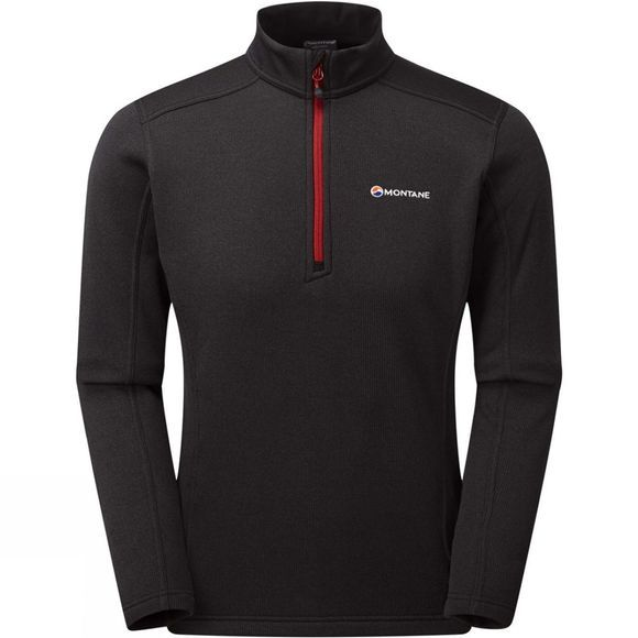 Montane Mens Forza Pull-On Black/Alpine Red