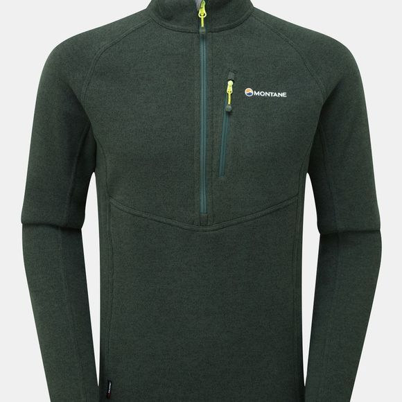 Montane Mens Neutron Pull-On Fleece Arbor Green