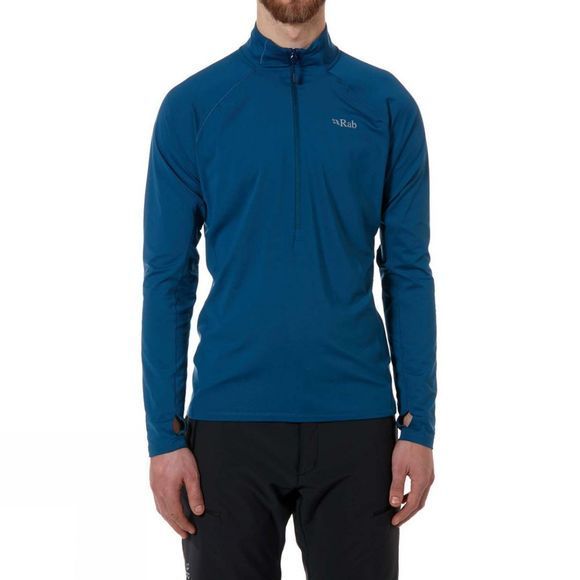 Rab Mens Flux Pull-On Fleece Ink