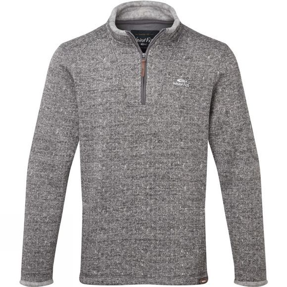Weird Fish Mens Beaufort Fleece Grey