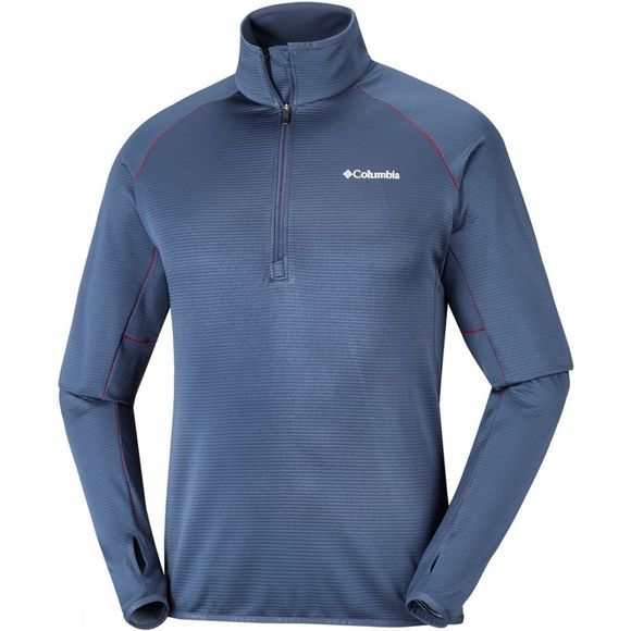 Mens Mount Powder Half Zip Fleece