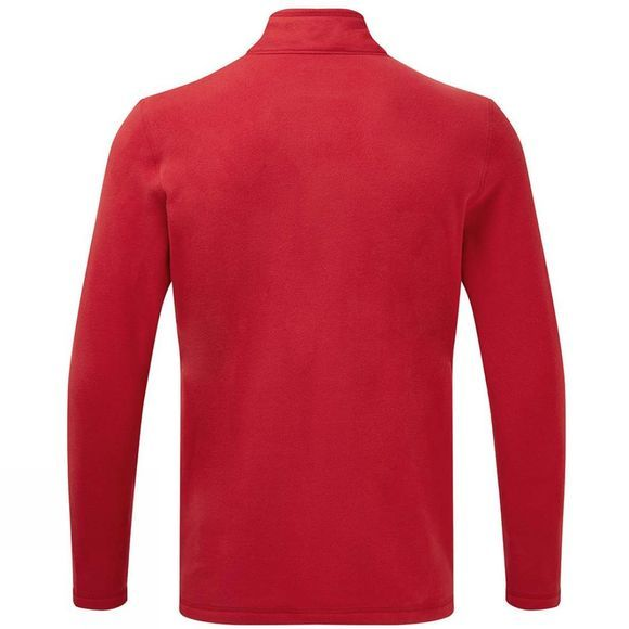 The North Face Mens Cornice II 1/4 Zip Fleece Chilli Pepper Red/Asphalt Grey