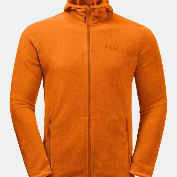Jack Wolfskin ARCO JACKET Rusty Orange Stripes
