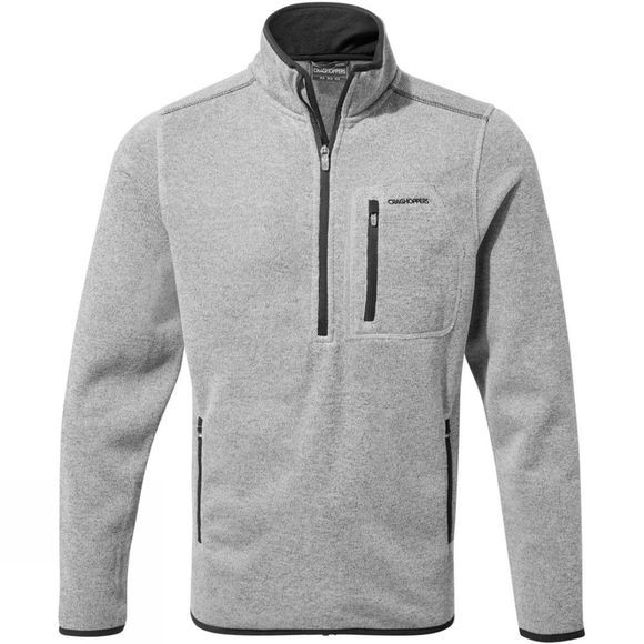 Craghoppers Mens Etna Half-Zip Fleece Soft Grey Marl