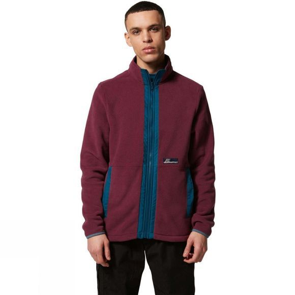 Craghoppers Mens Ashfield Full Zip Fleece Dark Grape