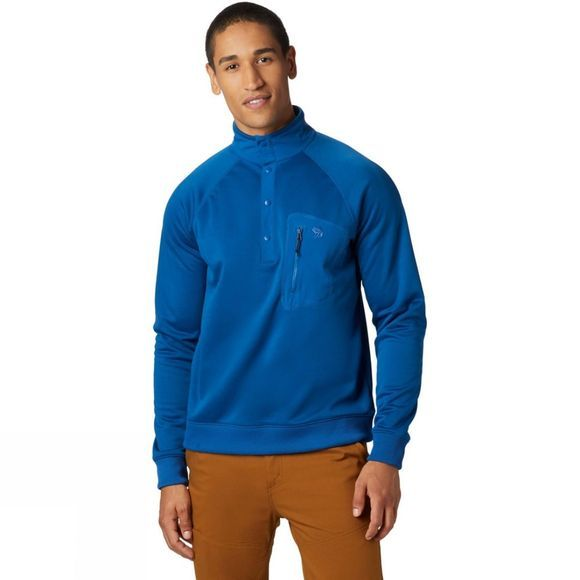 Mountain Hardwear Men's Norse Peak 1/2 Zip Fleece Nightfall Blue