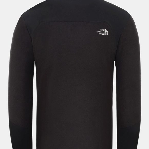The North Face Mens Glacier Pro 1/4 Zip Fleece Tnf Black/Tnf Black