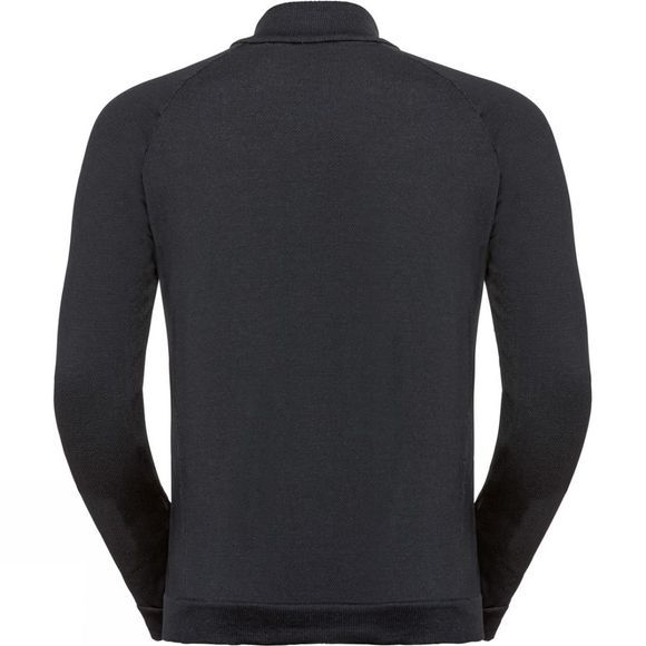 Odlo Mens Martin 1/2 Zip Midlayer Black