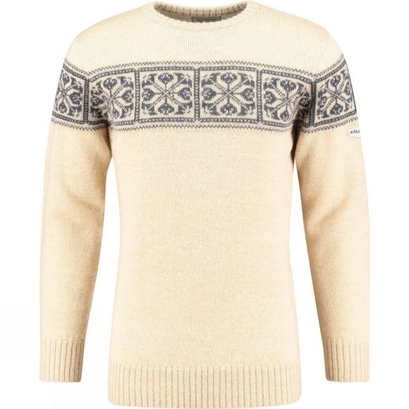 Ayacucho Mens Knight Sweater Natural