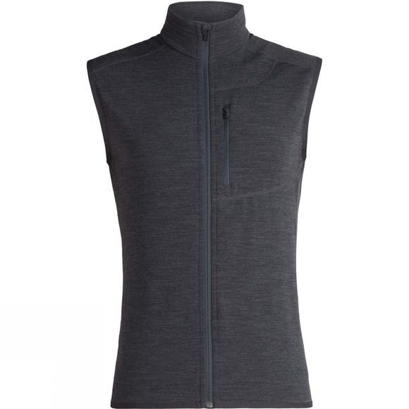 Icebreaker Mens Descender Vest Jet Heather
