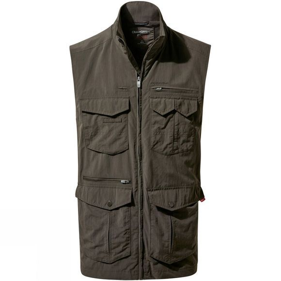 Craghoppers Mens NosiLife Adventure Gilet Woodland Green
