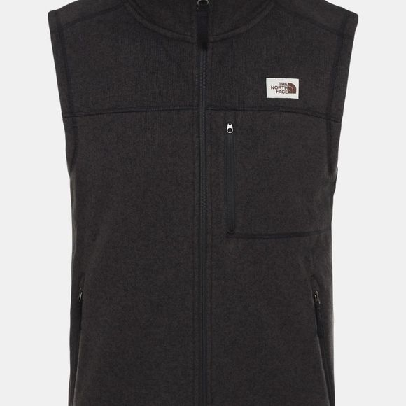 The North Face Mens Gordon Lyons Gilet Tnf Black Heather