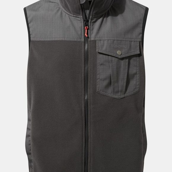 Craghoppers Mens Dillon Vest Black Pepper