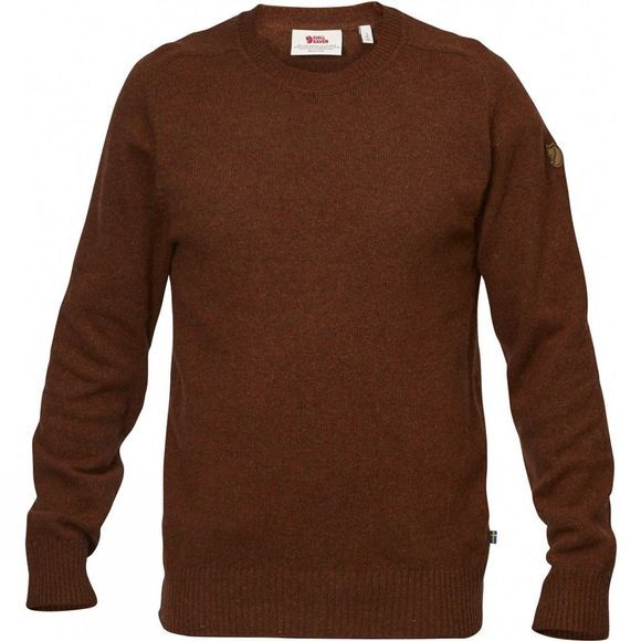 Fjallraven Övik Re-Wool Sweater Autumn Leaf