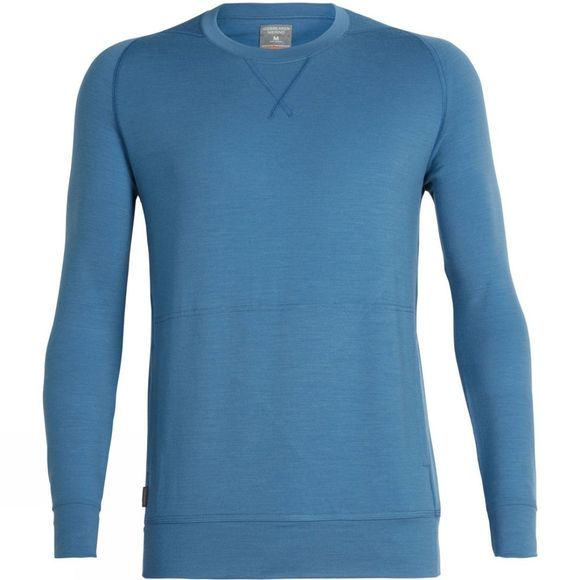 Icebreaker Shifter Long Sleeve Crew Thunder