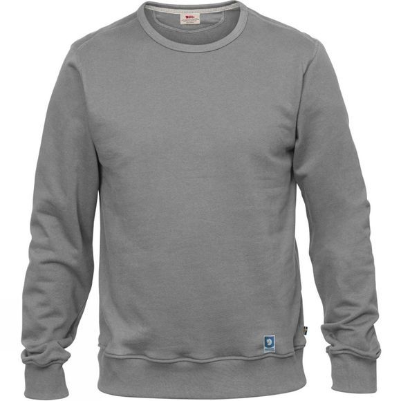 Fjallraven Mens Greenland Sweatshirt Grey