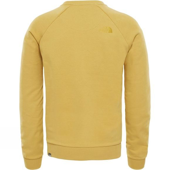 The North Face Raglan Simple Dome Fleece Olivenite Yellow