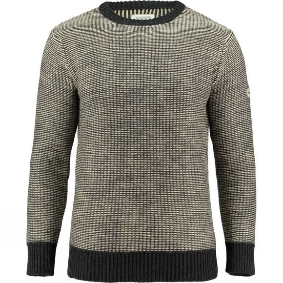Ayacucho Mens Carcasonne Sweater Dark Grey