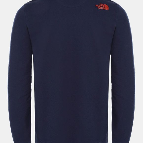 The North Face Mens Street Fleece Pullover Montague Blue