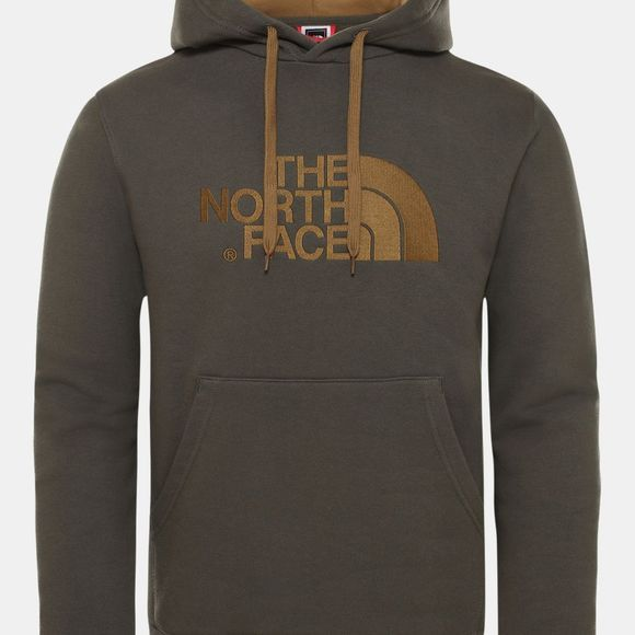 The North Face Mens Drew Peak Pullover Hoodie New Taupe Green /British Kahki