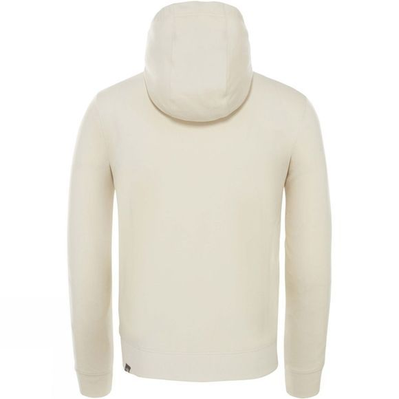The North Face Mens Light Drew Peak Pullover Hoodie Vintage White