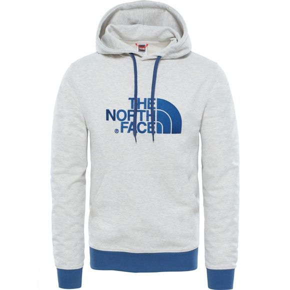 The North Face Mens Light Drew Peak Pullover Hoodie TNF Oatmeal Heather