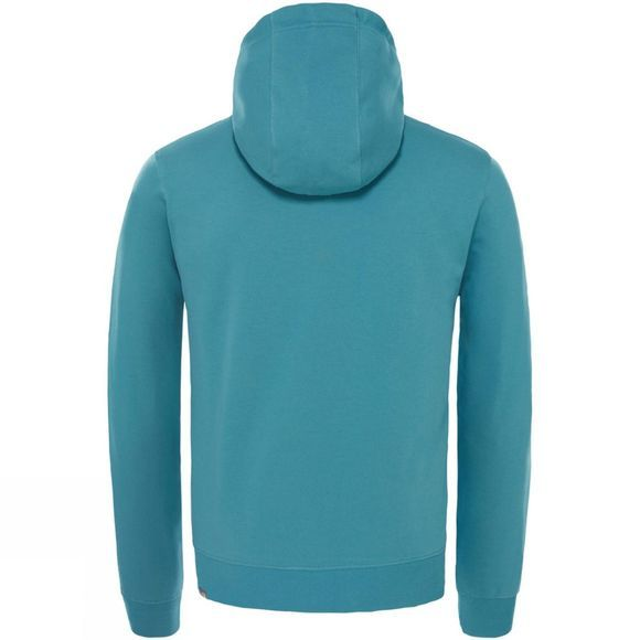 The North Face Mens Light Drew Peak Pullover Hoodie Storm Blue