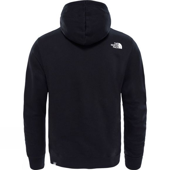 The North Face Mens Open Gate Pullover Hoodie TNF Black