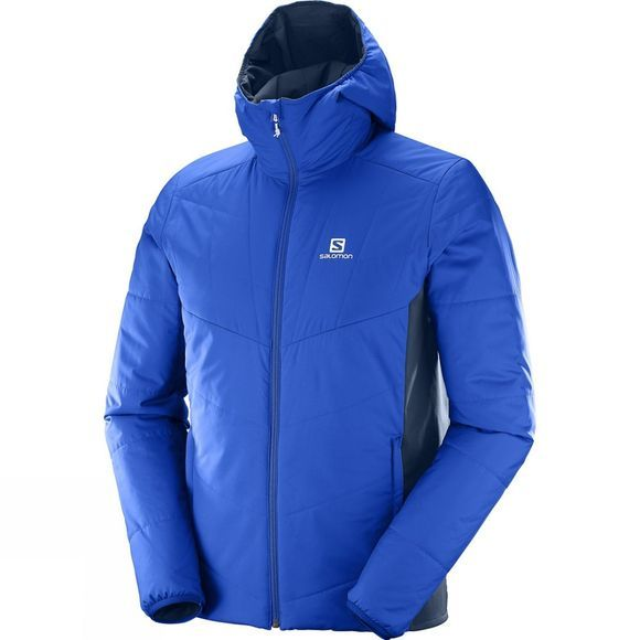 Salomon Mens Drifter Mid Hoodie Surf The Web